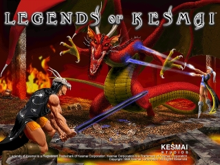 Second Intro Screen from Original Legends of Kesmai Game